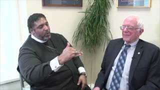 Bernie Sanders Talks With Rev. Dr. William Barber