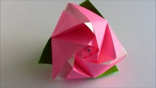 How to Make an Origami Transforming Rose Cube! - Instructables | 180x320