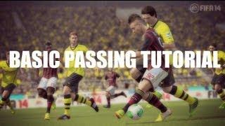 FIFA 14 - Basic Passing Tutorial