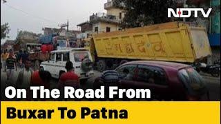 Bihar Polls: Buxar Chocking On Dust, Reeling Under Traffic Chaos