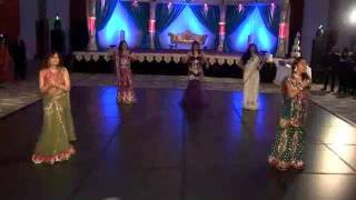 My Family Dance at Indian Wedding Reception