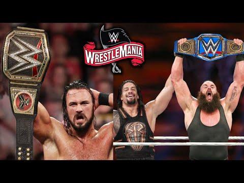 10 Shocking Last Second WrestleMania 36 Rumors - Braun Strowman Wins Universal Championship