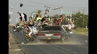 Bikes Crash Live Accidents caught in Camera (Road Accident 2014)