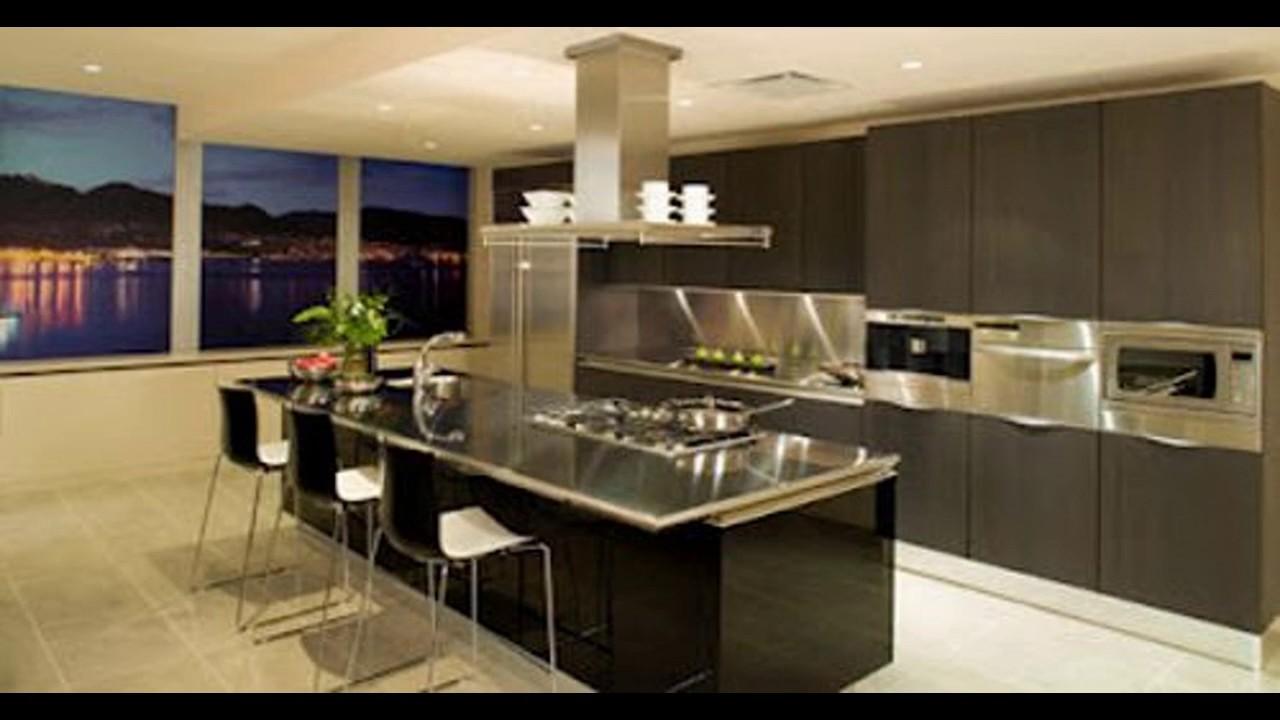 Dise os de cocinas con barra americana de inspiraci n for Modelos de cocinas modernas americanas