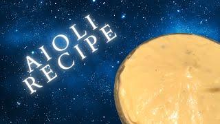 Aioli Recipe - StuffWeAteToday