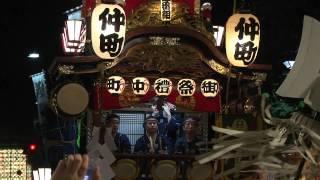 2012年7月22日 熊谷うちわ祭 第3日目 引き合わせ叩き合いの様子です。 ...