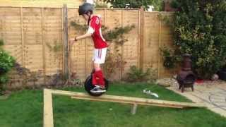 toby stevens new compilation of his airwheel antics bought from www theairwheel com