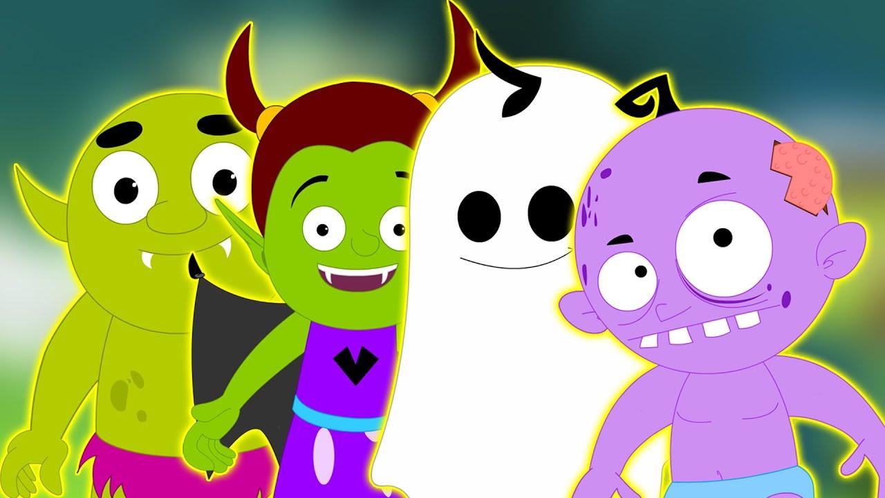 Noche de halloween ni os rimas de miedo en espa ol - Para ninos infantiles ...