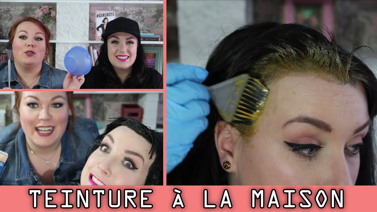 Faire sa coloration cheveux maison