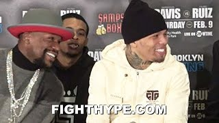 GERVONTA DAVIS BUSTS OUT LAUGHING AT HUGO RUIZ FOR KO THREAT; RUIZ WARNS HE\'LL DEMONSTRATE HIS POWER