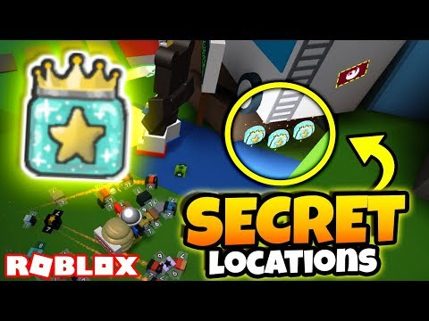 ALL NEW *SECRET* GIFTED JELLY LOCATIONS! (Roblox Bee Swarm Simulator)