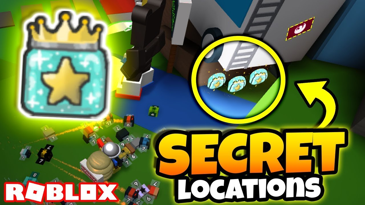 All New Secret Gifted Jelly Locations Roblox Bee Swarm