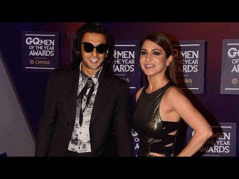 Ranveer Singh & Anushka Sharma At GQ Men Of The Year Awards 2017
