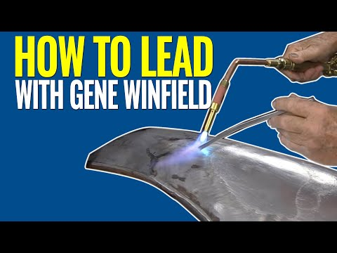 How To Lead: Leading a Body Panel with Gene Winfield - Using Body Solder Kit from Eastwood