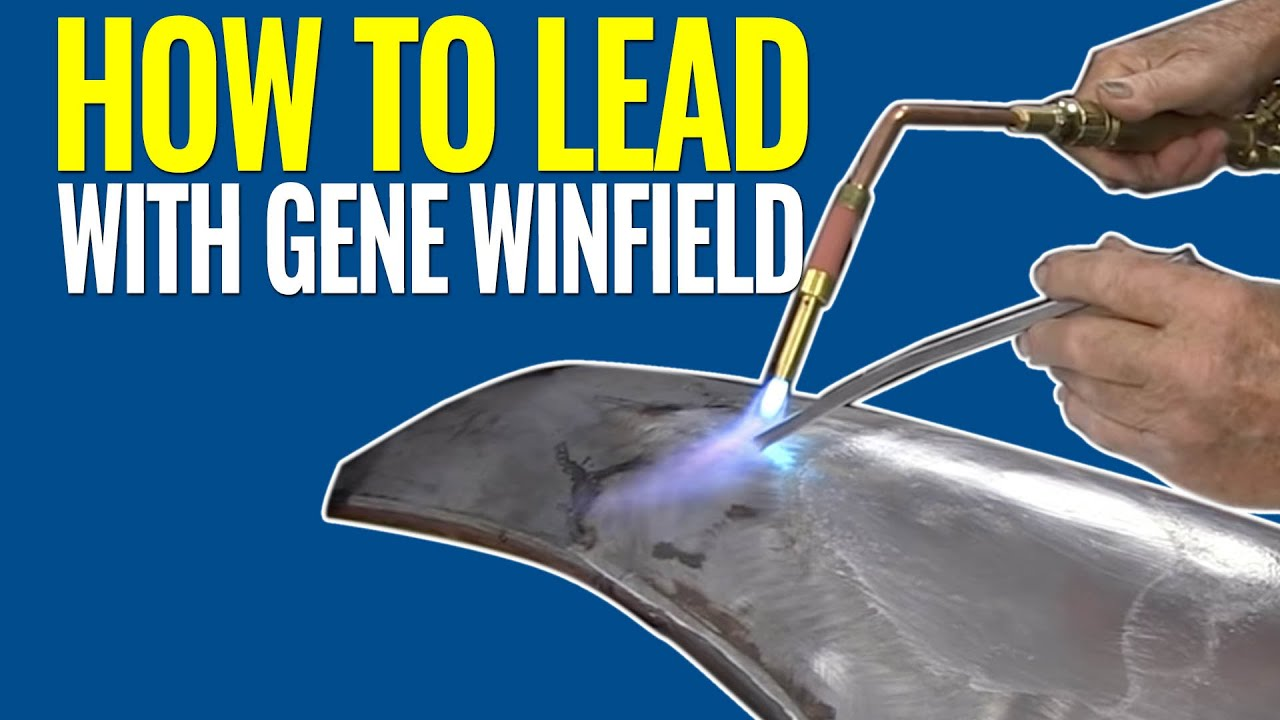 How To Lead: Leading a Body Panel with Gene Winfield ...