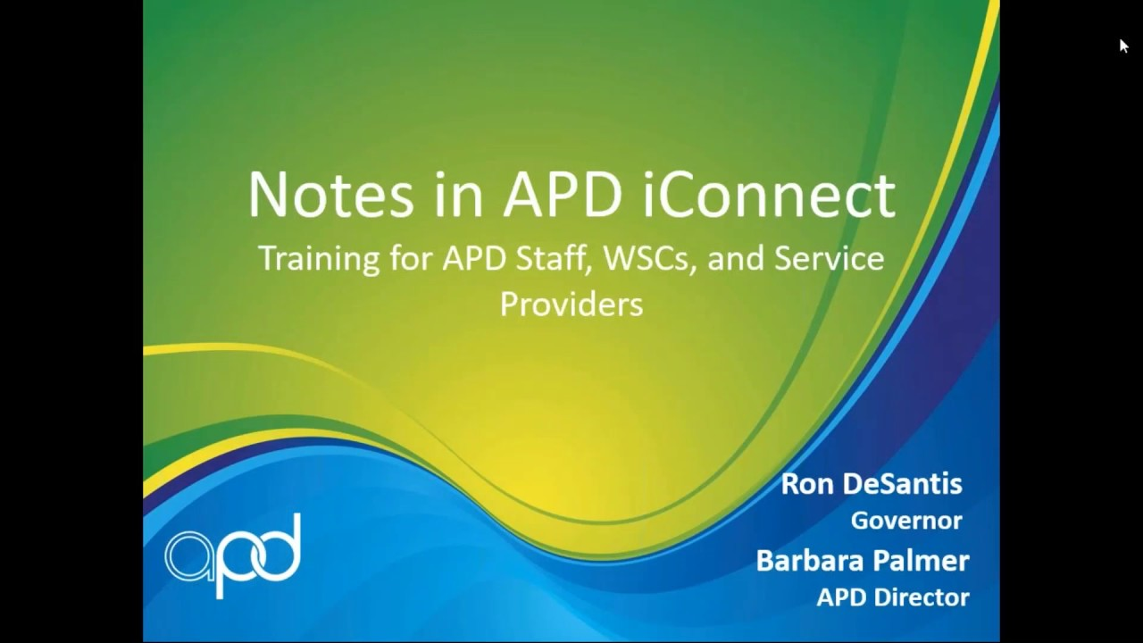 Download Notes in APD iConnect