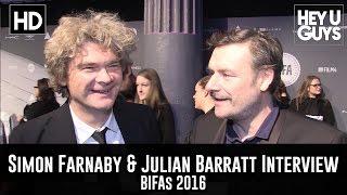 Simon Farnaby & Julian Barratt Red Carpet Interview - BIFAs 2016