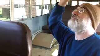School Bus to RV - Seat Removal