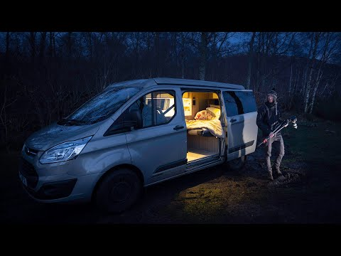 Photography Trip In Camper Van - Escaping The Storm