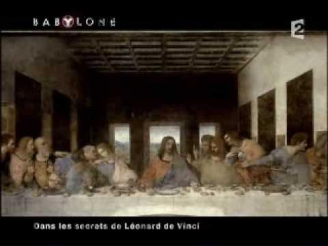 La Cene - Leonard de Vinci - partie 1