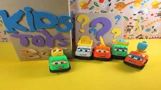 Kids Toy Box 5X Construction Vehicles | Learning Construction Vehicles Names for Kids