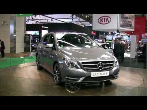 2013 Mercedes-Benz B-Class Exterior at 2012 Montreal Auto Show