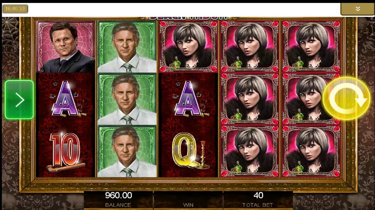 Atari: Black Widow Slot Machine