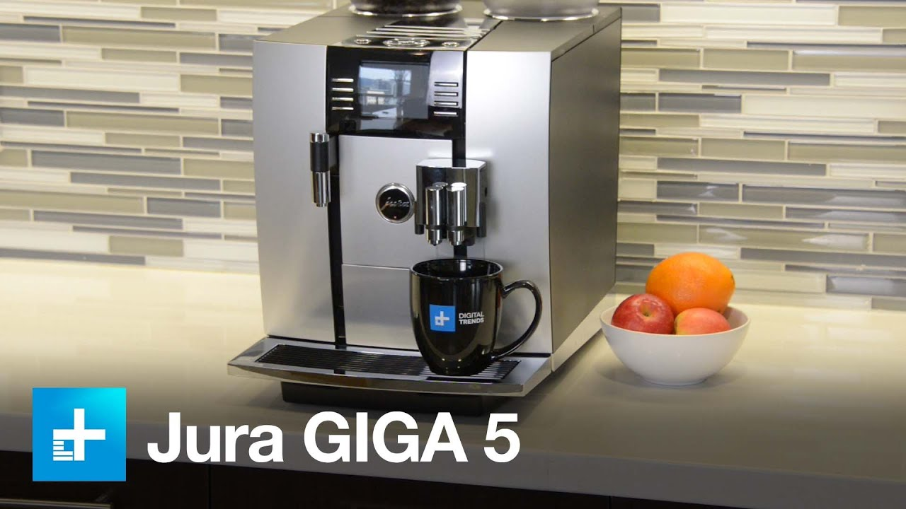 jura giga 5 espresso machine youtube. Black Bedroom Furniture Sets. Home Design Ideas