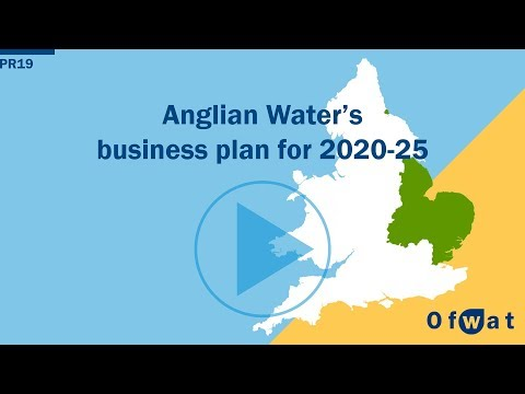 Anglian Water's business plan for 2020-25