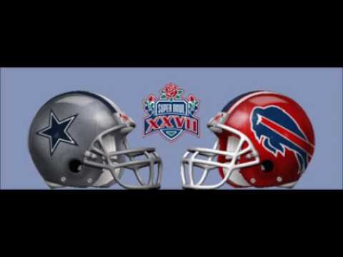 Super Bowl 27 (XXVII) - Radio Play-by-Play Coverage - C.B.S. Radio Sports NFL