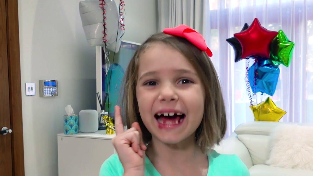 Катя и Сладкие истории про вредные сладости