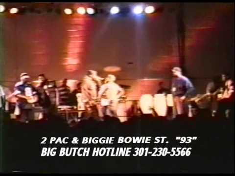 Tupac and Biggie - 1993 Live in Maryland