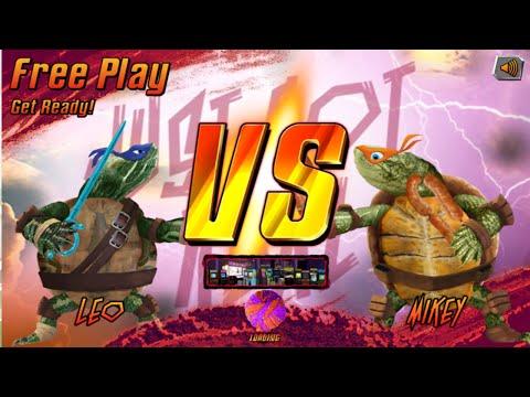 Nick Games: Super Brawl 3 Just Got Real - Leo Vs. Mikey