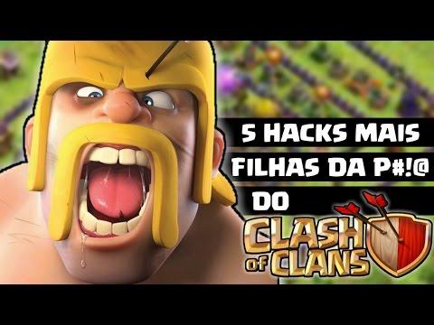 OS 5 HACKS MAIS APELÕES DO CLASH OF CLANS