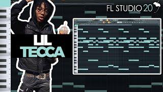 HOW TO MAKE AN EMOTIONAL LIL TECCA TYPE BEAT | FL Studio 20 Tutorial