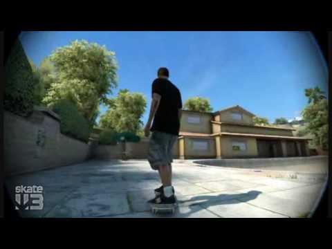 Skate 3: How to do the Pop Shuvit glitch (Super jump)