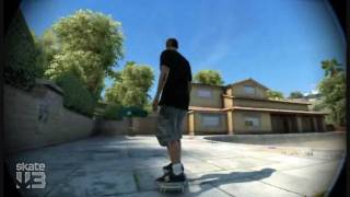 Skate 3: How to do the Pop Shuvit glitch (Super jump)