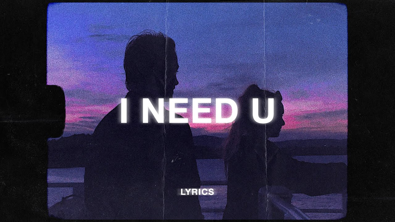 Zaini - I Need U (Lyrics) ft. darkforestdrives