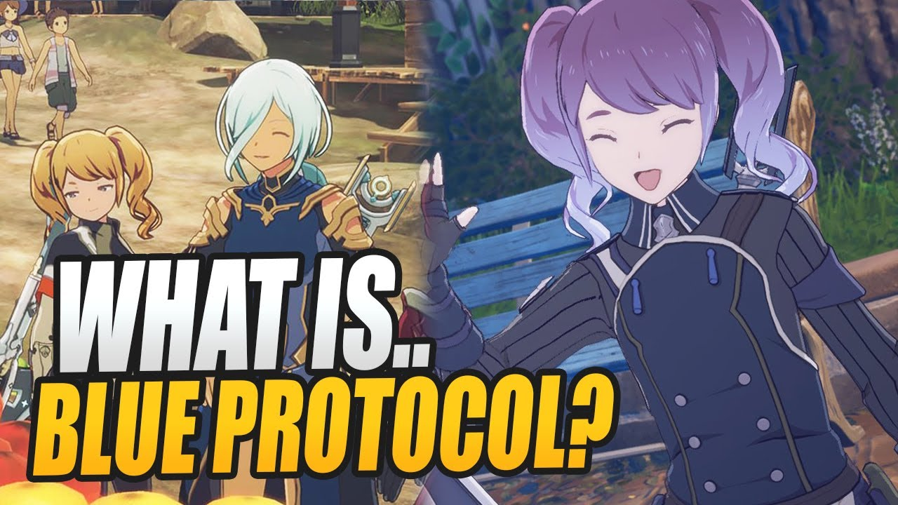 What is.. BLUE PROTOCOL? 2022's Best Free Anime MMORPG