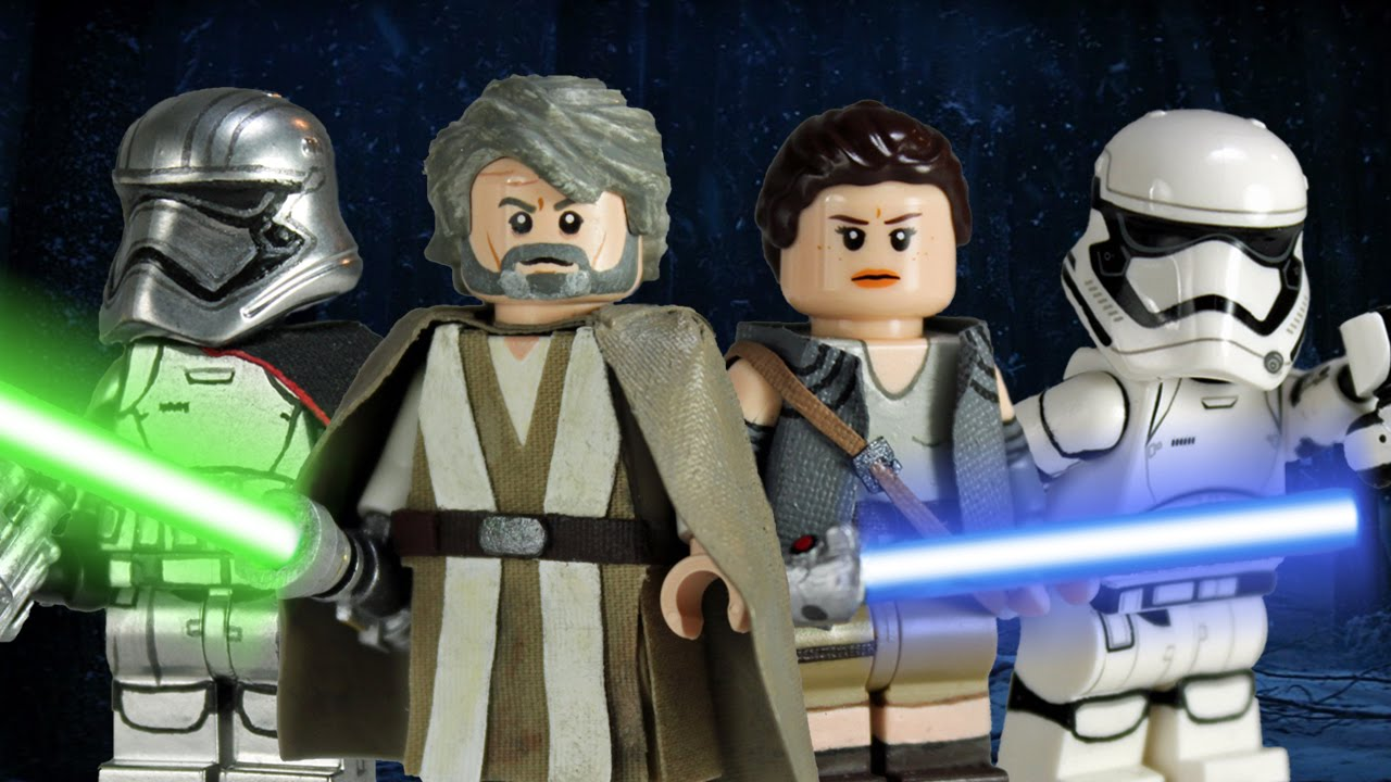 Custom Lego Star Wars The Force Awakens Minifigures Part