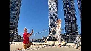 Андрей Черкасов с женой на отдыхе в Дубае ))