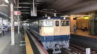 SL北びわこ号客車送り込み大阪発車