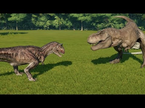 carnotaurus modified vs t rex i rex spinosaurus giganotosaurus