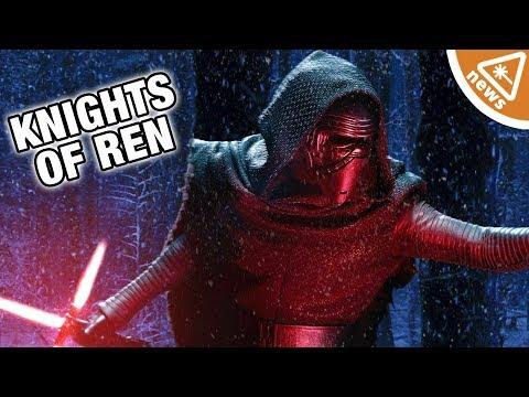 Where Were the Knights of Ren in The Last Jedi? (Nerdist News w/ Amy Vorpahl)