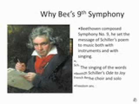 an analysis of beethoven s ninth symphony Beethoven's ninth symphony is the composer's ultimate expression of brotherhood and humanity experience this masterpiece as the resounding chords of the beloved.