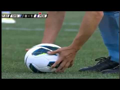 DEL PIERO GOAL SYDNEY FC vs PERTH GLORY 2-1 28-10-2012 HD