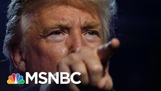 Republicans Shift Donald Trump Coverage With Packed Schedule | Rachel Maddow | MSNBC