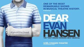 Four Evans. Four Forever. - Dear Evan Hansen - Noël Coward Theatre