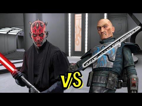 Darth Maul Vs Pre Vizsla - Clone Wars Ai Battle