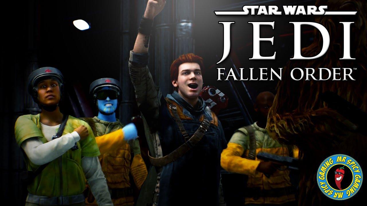 LIBÉREZ LES WOOKIES! - Star Wars Jedi: Fallen Order Gameplay Ep5 + vidéo